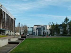 Vue du campus depuis la BU Sciences